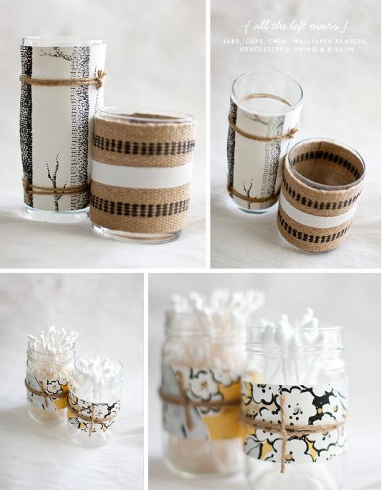 DIY-pots-yaourt-papier-peint